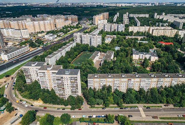 Район Бирюлево Восточное в Москве