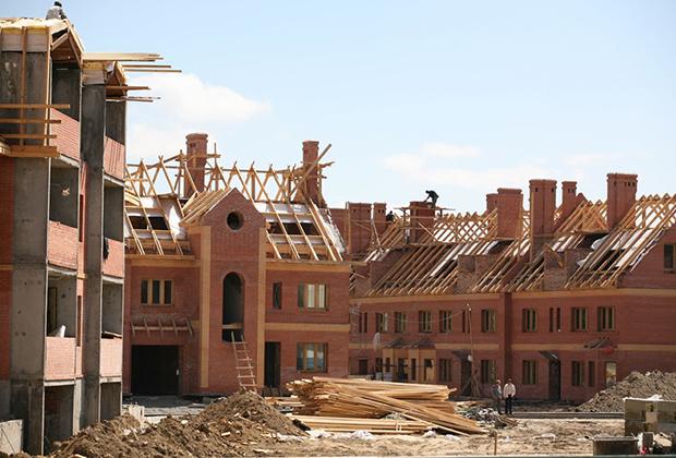 Строительство таун-хаусов