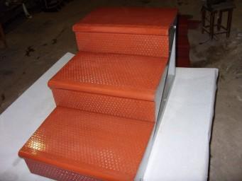 Лестничные ступени - сборные, сборно-монолитные конструкции