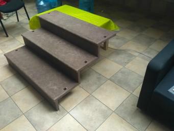 Лестничные ступени - монолитные тонкостенные лестничные марши