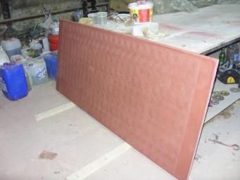 Тонкостенные бетонные лестничные крупногабаритные площадки