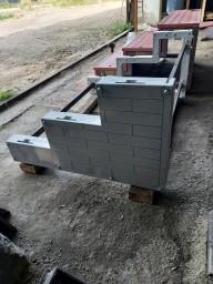 Приставное крыльцо сборное для дачи, бани, беседки, хозяйственной постройки