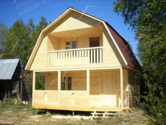 Дачный дом двухэтажный 3