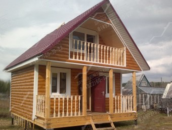 Дачный дом двухэтажный 2