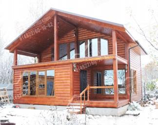 Дачный дом двухэтажный4