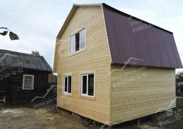 Дачный дом двухэтажный 1