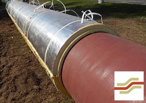 Скорлупы для утепления трубопроводов